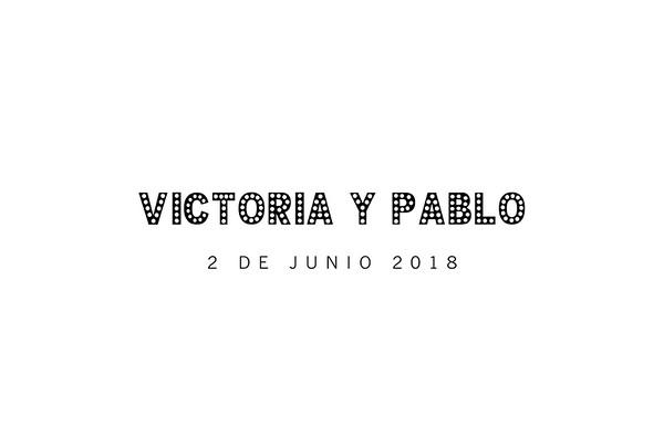 Victoria & Pablo - 2 junio 2018