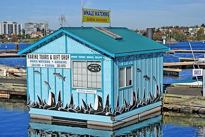 Fisherman's Wharf, Victoria, BC, Canada - November 2010