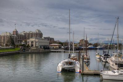 Victoria Inner Harbor - Victoria, Vancouver Island, BC, Canada