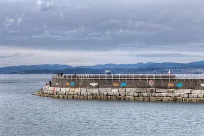 Ogden Point - Victoria, Vancouver Island, British Columbia, Canada