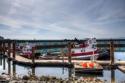 Pilot Boats - Ogden Point, Victoria, Vancouver Island, British Columbia, Canada