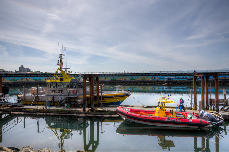 Pilot Boats - Ogden Point, Victoria, Vancouver Island, British Columbia, Canada