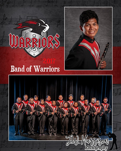 2017 Band of Warriors MM - Clarinets - 5