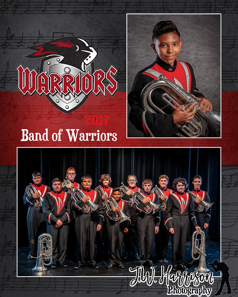 2017 Band of Warriors MM - Baritones - 4