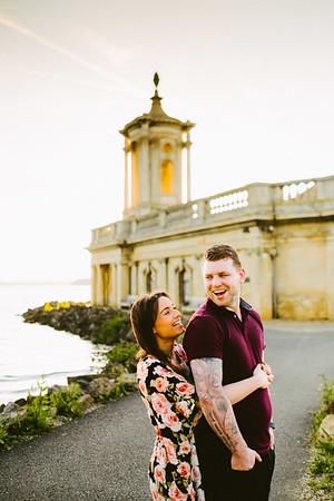 Victoria and Mark - pre wedding shoot