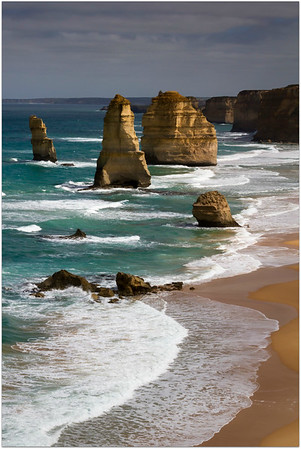Sunlight on the Apostles