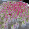 Special details abounded: these sugar cubes were hand decorated with flowers by Barbara Carrigan. Photo by Mary Leach