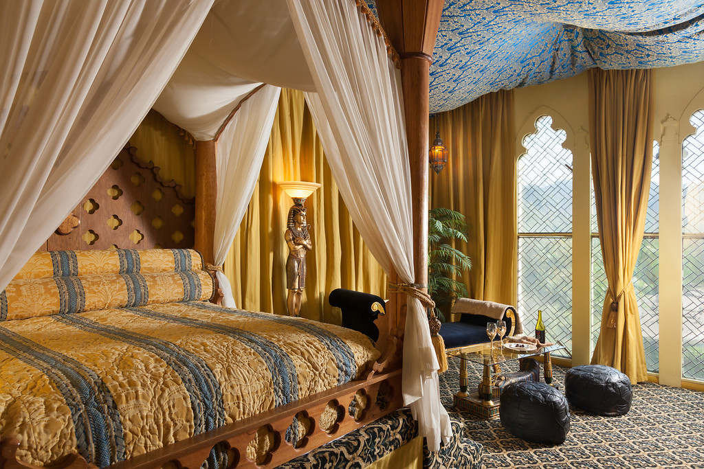 Victorian Rooms Egyptian 01 XL Fantasy, Delight and Whimsy in California: The Vick