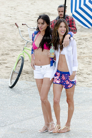 Victoria's Secret Shooting In Los Angeles