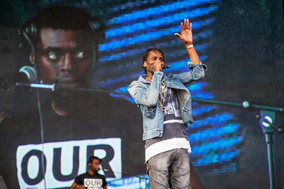Wretch 32 at Victorious Festival 2016