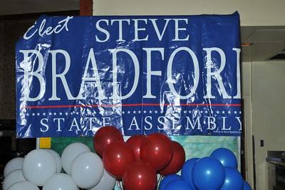Steve Bradford Election Night