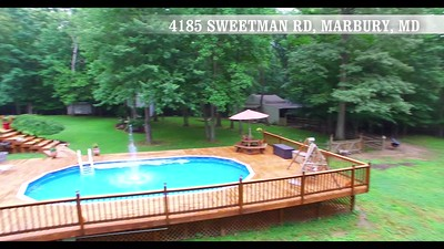 Video 1080 HD 4185 Sweetman Rd, Marbury MD