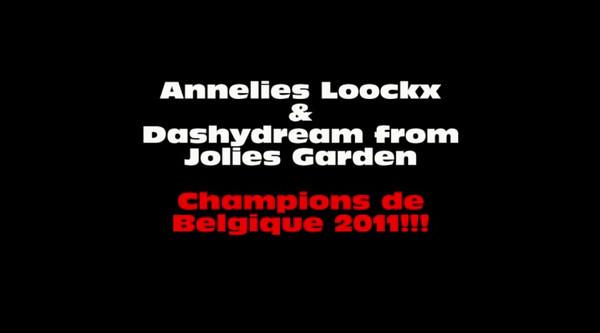 Annelies Loockx & Dashydream from Jolies Garden - Sheltie - S3<br /> <br /> 1er