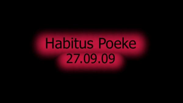 Habitus Poeke<br /> <br /> 27.09.09