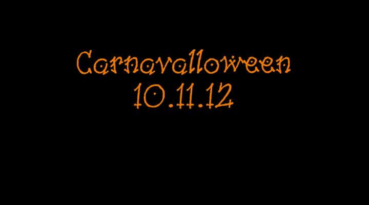 Carnavalloween 10.11.12