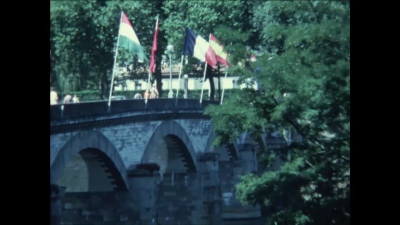 "17 Festival International de Folklore. Confolens 1974. Ensemble ""Dnister"""