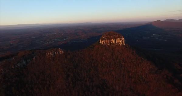 20161102PilotMountain Drone VideoTime
