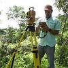 WS Jamey with Total Station