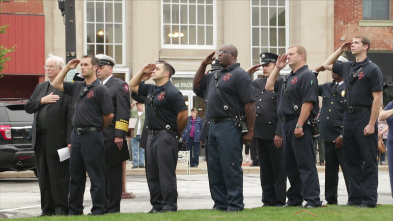 9/11 Ceremony by American Legion Post 91