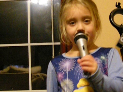 """Sydney singing """"White Liar"""" - Age 5"""