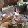 2008 Mia Rolling And Playing With Blocks