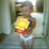 2008-08-03 Mia Carrying Things At Home 2008 Aug 3