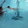 Super Swimmers Ellie and Michael