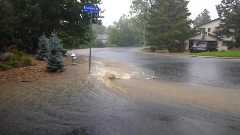 La Casa Di Domenico Cul de Sac -- Boulder Flood, September 2013
