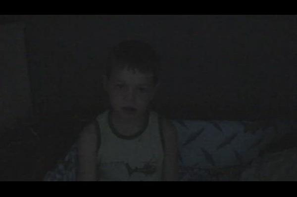 Samuel premier jour d'école 2007
