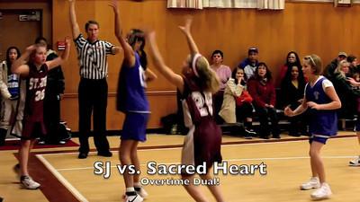 SJ Girls vs Sacred Heart