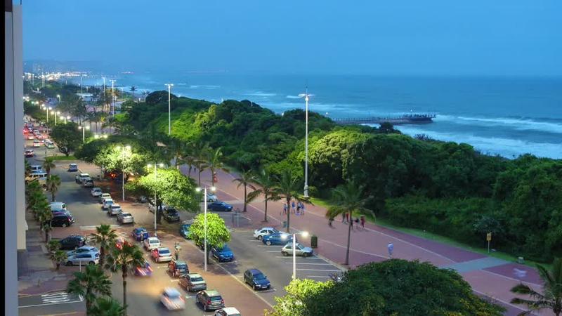 Durban Nightfall Timelapse