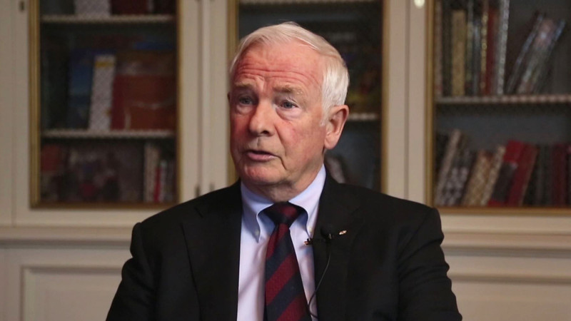 Governor General David Johnston speaks about hockey and skating on the Rideau Canal.