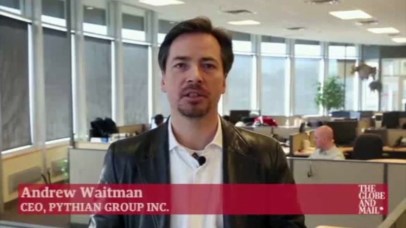 Andrew Waitman, CEO of Pythian Group Inc., speaks about how to know when it is time for a business to expand.