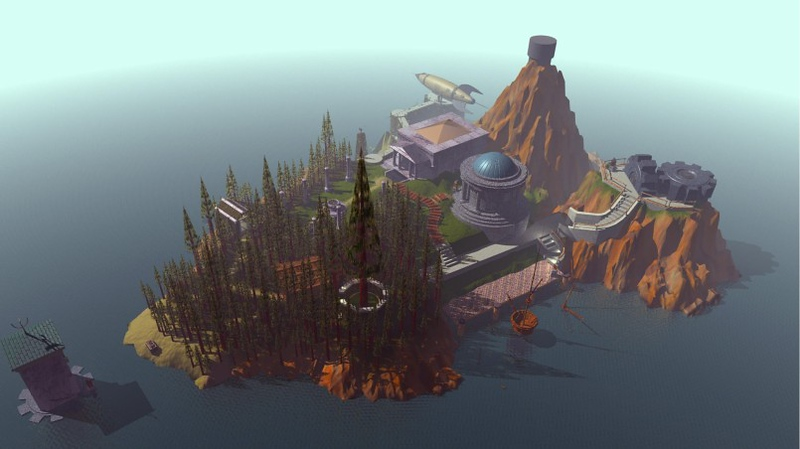 ". ""Myst,\"" released Sept. 24, 1993 for Mac OS."