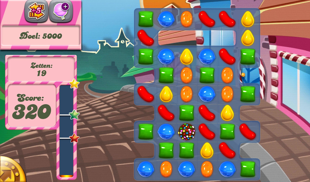 ". ""Candy Crush Saga,\"" released April 12, 2012, for browsers."