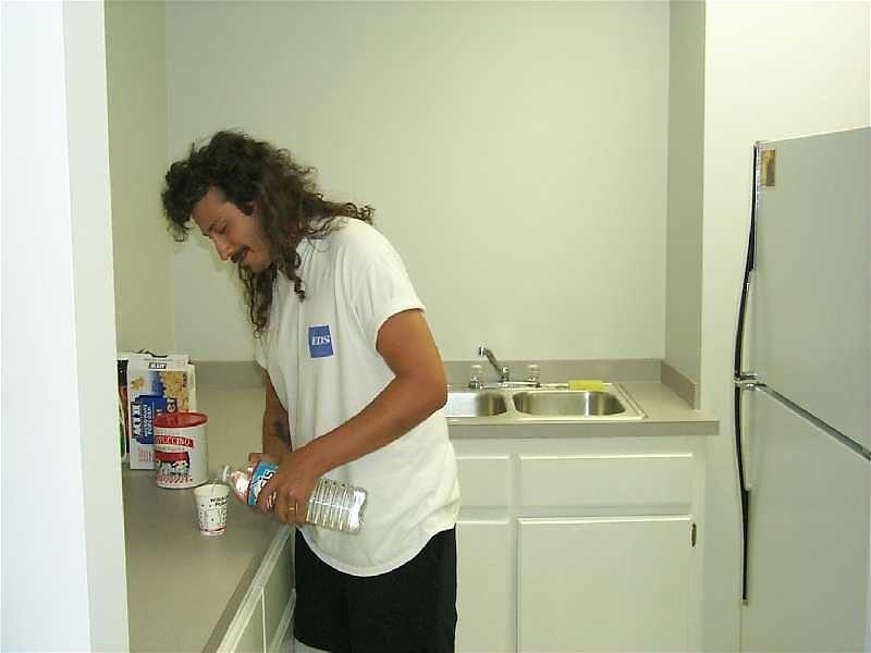 paul in kitchen