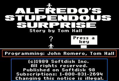 Alfredo's Stupendous Surprise