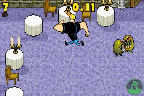 Crazy minigame in the castle!