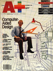 This is the cover of the A+ magazine that Cavern Crusader was in.