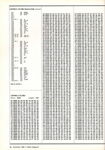 The CC.OBJ was the machine code - just in case you would rather type that instead of typing the Assembly Code and assembling it with something like Merlin, Orca/M, SE-Assembler, Lisa, etc.