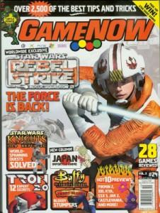 GameNow issue with the Congo Cube review in it.<br /> <br /> I've never heard of this magazine and I think it's out of print now.<br /> <br /> ROCK ON!