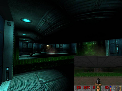 Someone remade DOOM E1M5 in the DOOM3 engine and it looks fantastic.
