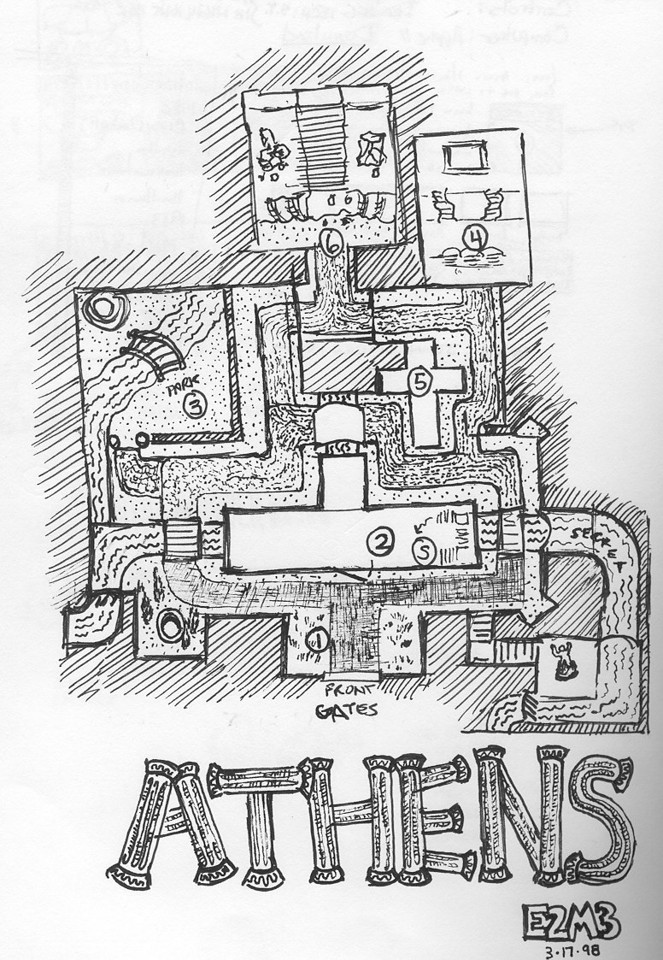 My E2M3 Athens sketch for Dr. Sleep (John Anderson).