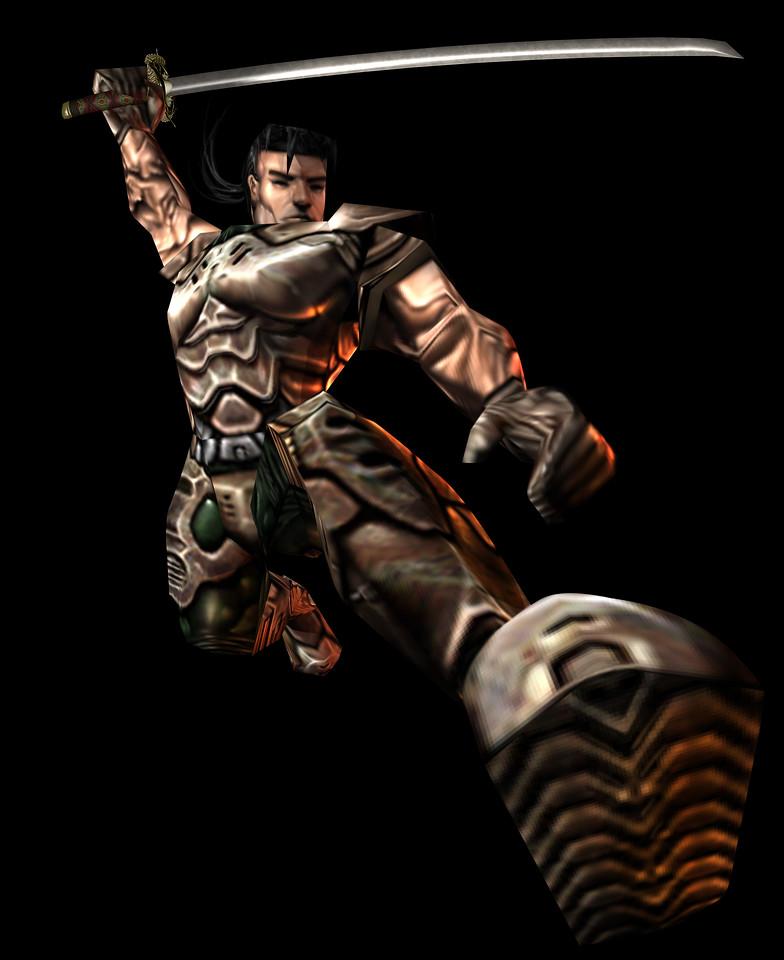 Ultra-res render of Hiro Miyamoto.
