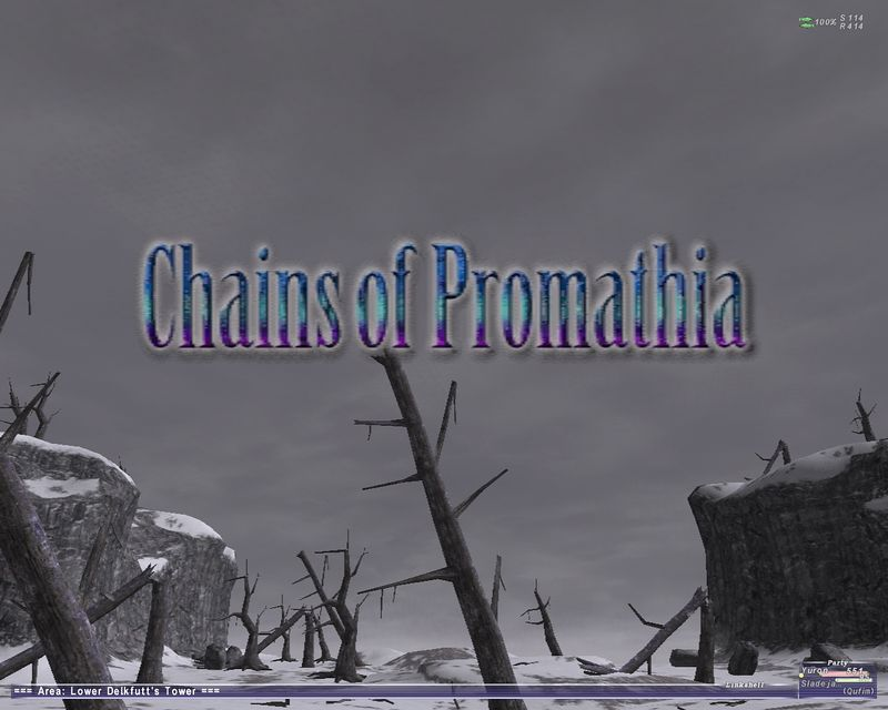 2004-10-16 - Chains of Promathia cutscene at Delkfutt Tower.
