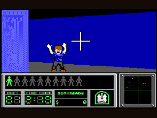 Rescue him......or kill him?  The choice is yours and was pretty novel for rescue games.