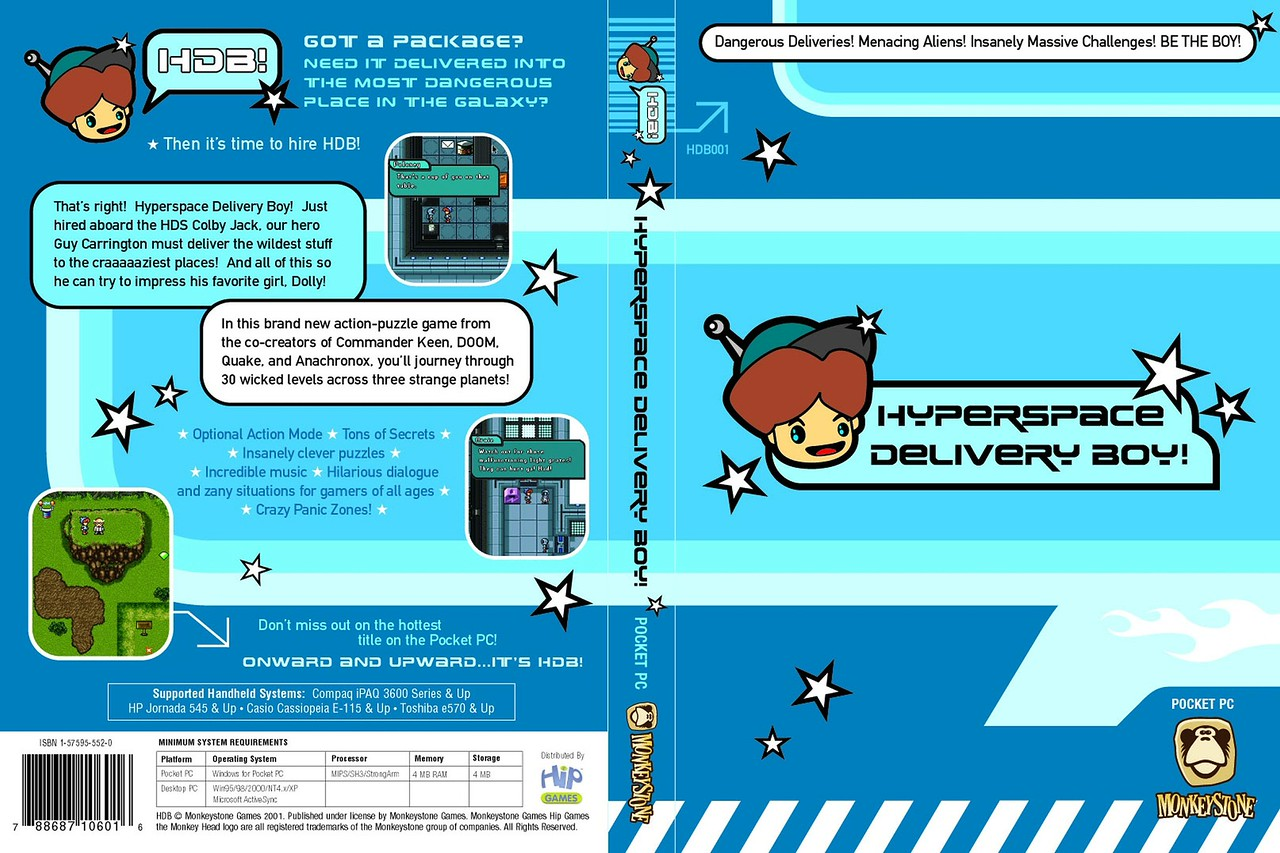 The original Pocket PC DVD case design.  The logo was reworked along with some other elements.
