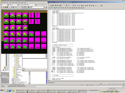 Here I'm updating the MSG script for a HDB new monster, the Fat Frog.