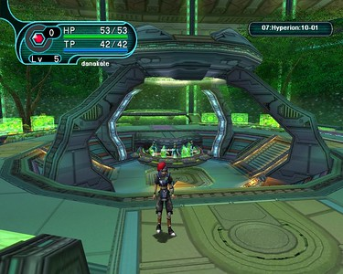 Phantasy Star Online: Blue Burst Beta