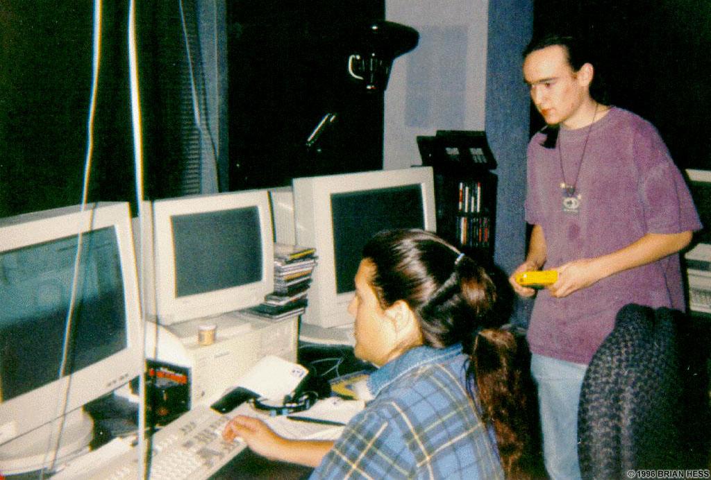 Romero demonstrates QuakeEd for Avatar